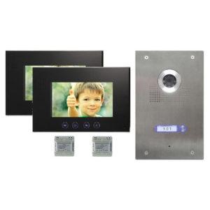 1-Familienhaus-tuersprechanlage-2-monitore