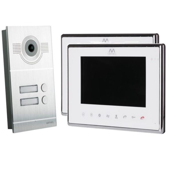 2-Familienhaus-2-monitore-Silber-WLAN
