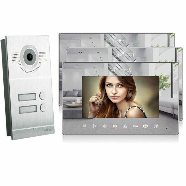 Silber Kamera 3 Spiegelmonitore