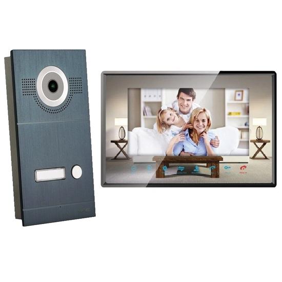 Gegensprechanlage mit Kamera und Spiegelonitor
