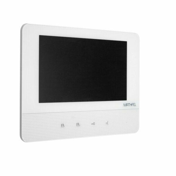 Sprechanlage Monitor Silber01