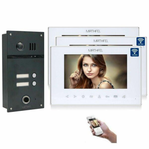 4 Draht Fingerprint mit 3 Monitoren