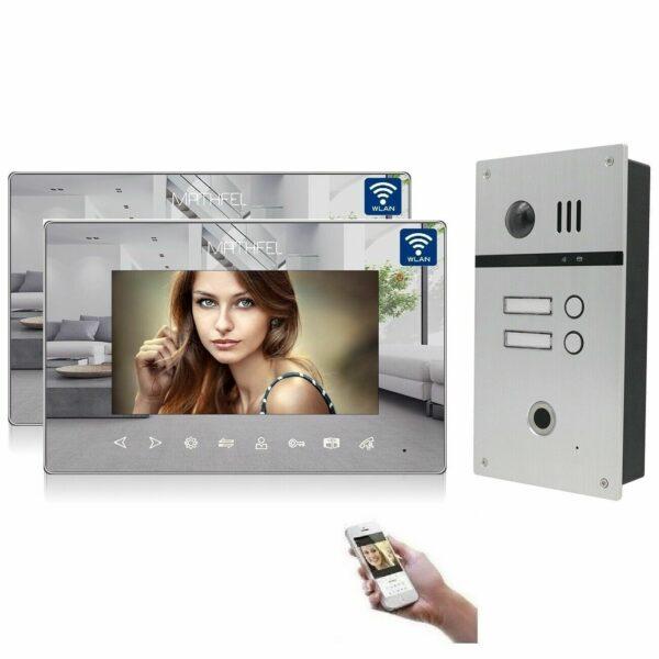 4 Draht Fingerprint mit 2 Monitoren und WLAN