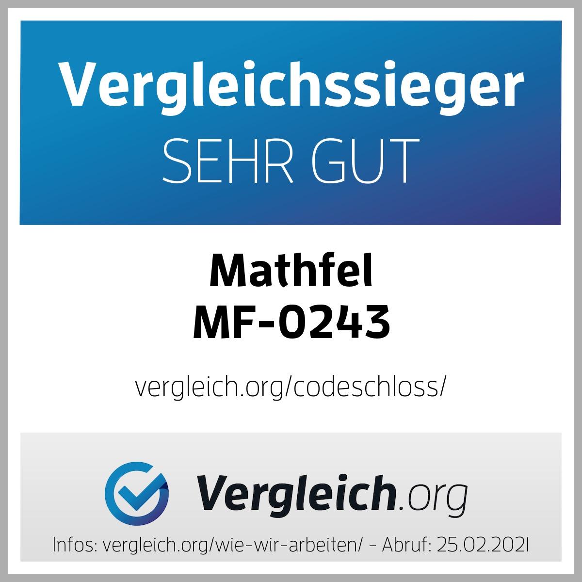 Mathfel Codeschloss Testsieger