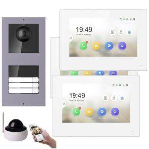 3 Familienhaus RFID Gegensprechanlage